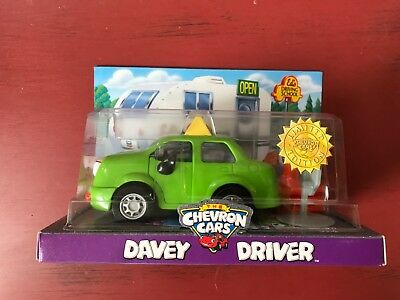"""Brand New The Chevron Cars Limited Edition """"Davey Driver"""" 1998"""