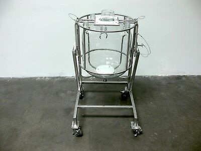 Chemglass Life Sciences 36 Liter Glass Bio Reactor w/ Stainless Invertible Stand