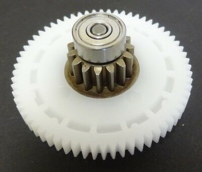 ELCO 2nd Gear with 13mm Bearings, Position 7, for CAB Faby Slush Puppie Machines