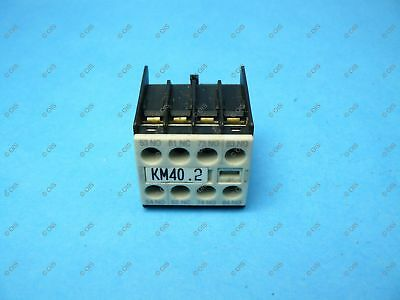 Siemens 3RH1911-1FA31 Sirius Auxiliary Contact Front Mount 3 NO & 1 NC