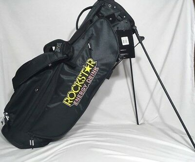 aae949646b89 NEW Nike Sport Lite Golf Stand Carry Bag Rockstar Energy Limited Edition NWT
