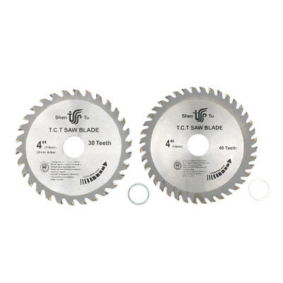 "Wood Woodworking Saw Blade 4"" Circular Carbide-Tipped Power Cutting Disc ##"