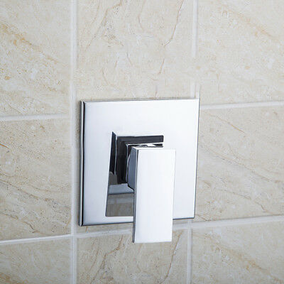 New Square Tap Wall Mounted Shower And Bath Mixer Faucet Control Valve5501-1/1