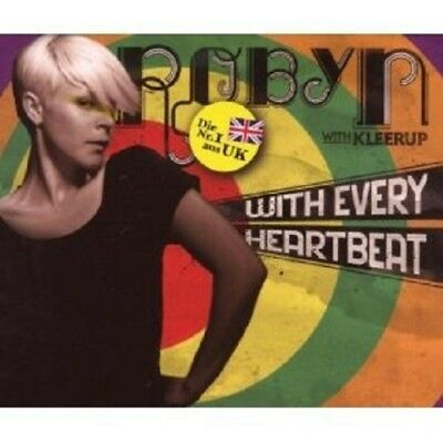 Robyn With Kleerup - With Every Heartbeat Cd Single New+