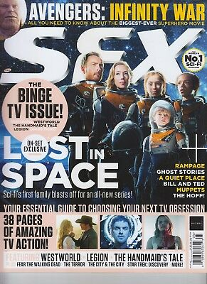 Lost In Space Sfx Magazine May 2018 Issue #299