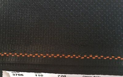 14ct - 14 count Zweigart Black Aida Cloth - Choose your size