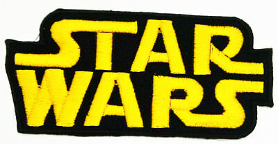 Star Wars Craft Sequin Embroidered Patch Sew Iron-On Patch Ready Made New