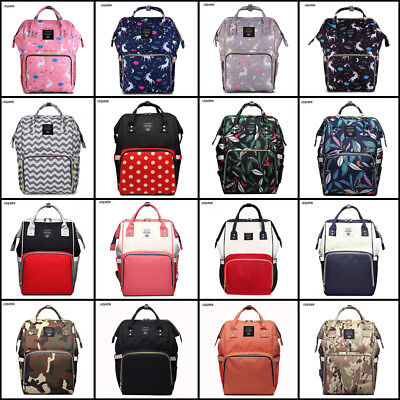LEQUEEN FACTORY SALES Diaper Bag Baby Nappy Large Mummy Backpack Changing Bag