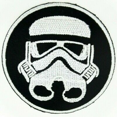 """Star Wars Coffee with Darth Vader Face Spoof Parody 3.25/"""" Embr Sewn//Iron PATCH"""