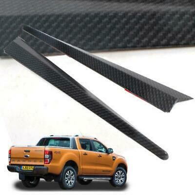 For 12-17 Ford Ranger T6 T7Set Tailgate Handle Cover Trim Accessories K-evlar