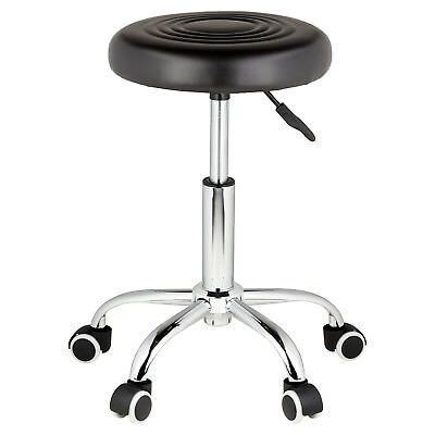 Adjustable Round Swivel Chair Stool Seat For Beauty Therapist/salon/manicure/spa