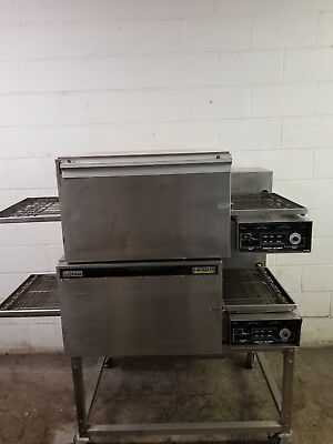 Lincoln Impinger Double Stack 1132 Pizza Conveyor Ovens 120-208v Tested