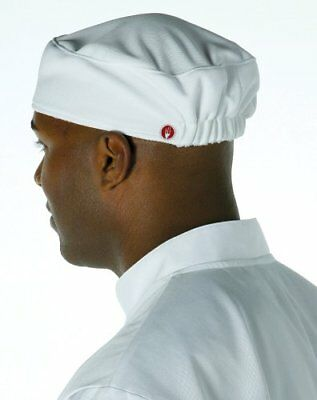 Chef Works Men's Total Vent Chef Beanie, White, One Size