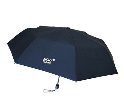 Montblanc Manual Folding Umbrella - Black