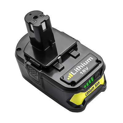 Turpow P108  Battery for Ryobi 18-Volt ONE+ Replacement P104 P105 P102 P103 P107