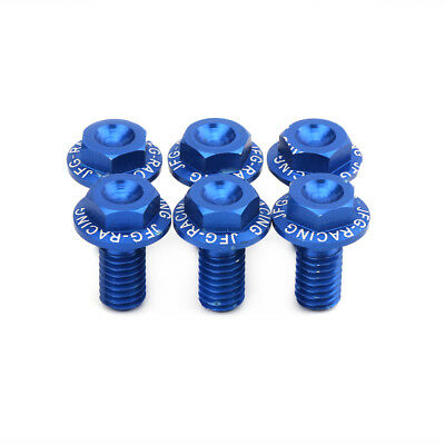 Motorcycle Fork Guard Bolts Front Fender Screws For Yamaha YZ125 YZ250 1991-2007