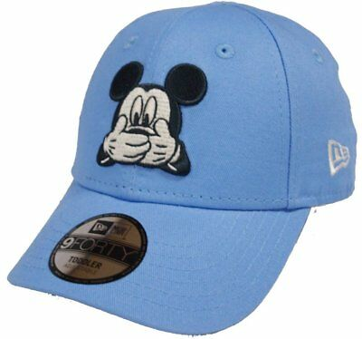New Era Casquette 9FORTY Enfant Disney Patch Mickey Mouse bleu marine  80581090 68daaecaf28