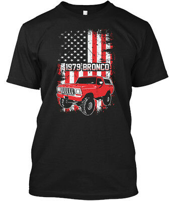 1979 Ford Bronco Classic Truck 4x4 Mens Graphic Tshirt