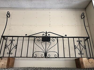 Old Spanish Window Grid Decorative Iron