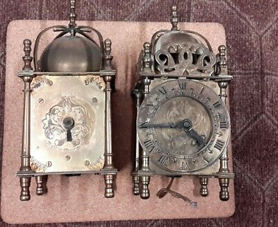 2 x smiths electric carriage clocks spares/repairs
