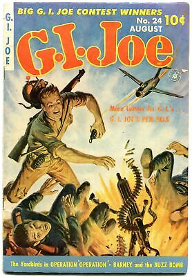 Gi Joe #24 1953-Yardbirds-Ziff Davis--Saunders--Decarlo Vf