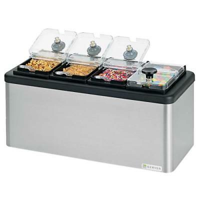 Server - 87480 - Insulated Mini-Bar w/4 Jars and Spoons