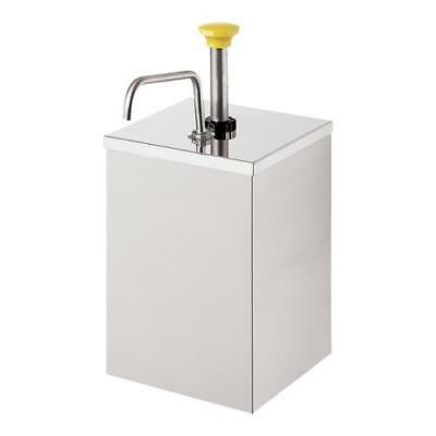 Server - 67580 - Stainless Steel Pump w/Shroud for #10 Can