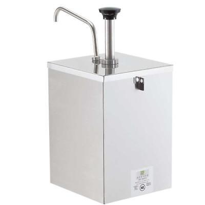 Server - 67590 - Stainless Steel Pump w/Shroud & Lock for #10 Can