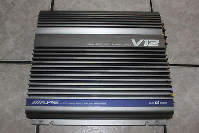 Alpine MRV-F300 V12 / 4/3/2 Channel Power Amplifer / Endstufe