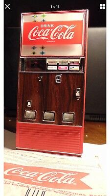 1996 Enesco Coca~Cola Musical Bank Vending Machine