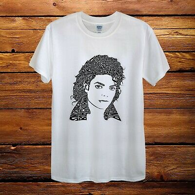 Bad Michael Jackson King Of Pop Gift Top Design T-Shirt Men Unisex Women Fitted
