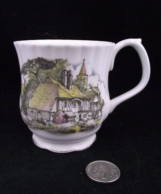 Royal Albert  Coffee Or Hot Chocolate  Mug Thatched Roof Scene England