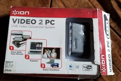 Ion Video 2 PC/Mac USB Conversion System