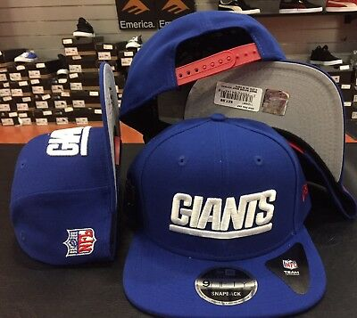 c3064821184 New York Giants Baycik Snap Snapback 9Fifty New Era Adjustable CAP Hat NFL  OSFA