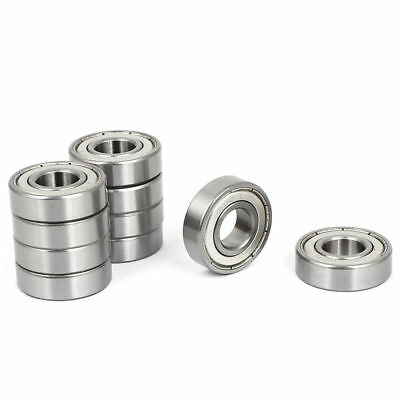 6001Z 12mmx28x8mm Ball Bearings 10pcs for Roller Sport