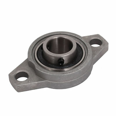 KFL004 20mm Bore Aluminum Alloy Self-aligning Flange Bearing Oval Pillow Block