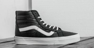 75ba7bce8167 VANS SK8 HI Reissue (Moto Leather) Black Women s Size 9.5 -  59.00 ...