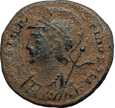 CONSTANTINE I the GREAT Founds Constantinople Ancient Roman Coin SOLDIERS i67700