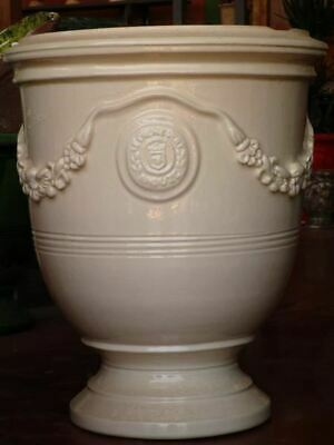 """33½"""" bespoke French Anduze urn garden planter, 17 different finishes available"""