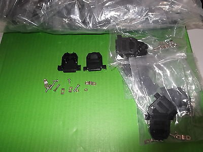 15 way Dee Cover 1000pcs BULK Hood D Black Backshell Short Screw Trade offer ONO