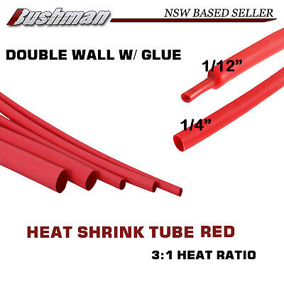 5M DIA=6.4mm Heat Shrink Tubing Tube Wire Cable Glue Line Insulation Sleeve Wrap