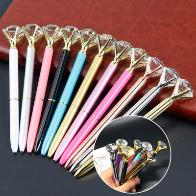 Diamond Head Crystal Ball Pen Concert Pen Creative Pen Stationery Student Gift