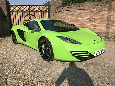 MCLAREN MP4-12C 3.8 V8 BI TURBO GREEN MASSIVE SPESIFICATION MCALREN HISTROY 9k