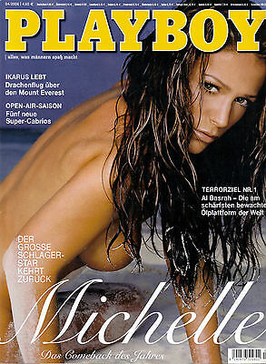 Playboy 04/2006    Schlagerstar MICHELLE*    April/2006