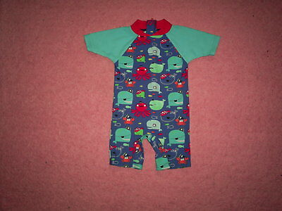 """Boys """"Babies R Us"""" Multi Sea Themed Cover Up Costume for Age 6-12 months"""