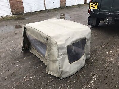 Land Rover Defender Double Cab Canvas Canopy & LAND ROVER DEFENDER Double Cab Canvas Canopy - £50.00 | PicClick UK