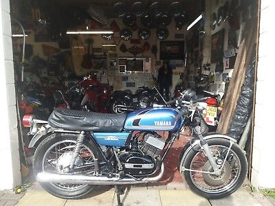 ORIGINAL 1975 YAMAHA RD250 A.  4,173 miles showing SEE DESCRIPTION FOR FULL INFO
