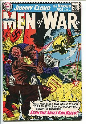 ALL-AMERICAN MEN OF WAR #117-1966-DC-LAST ISSUE-JOHNNY CLOUD-NAVAJO ACE-vf