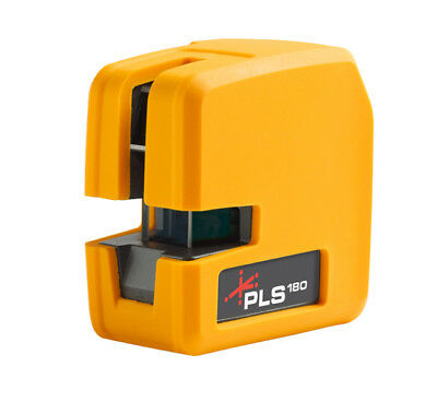 NEW PLS180 RED BEAM Self-Leveling Cross Laser Level Tool NIB