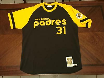quality design b3819 7e7e3 MITCHELL & NESS 1978 San Diego Padres Dave Winfield authentic jersey 2XL  USED